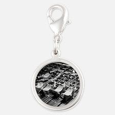 Mixology Silver Round Charm