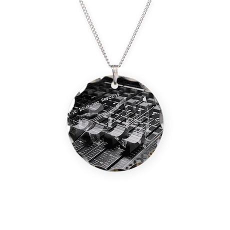 Mixology Necklace Circle Charm