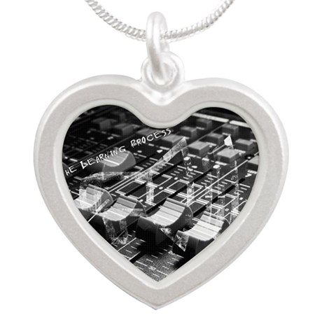 Mixology Silver Heart Necklace