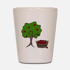 Apple Tree Shot Glass