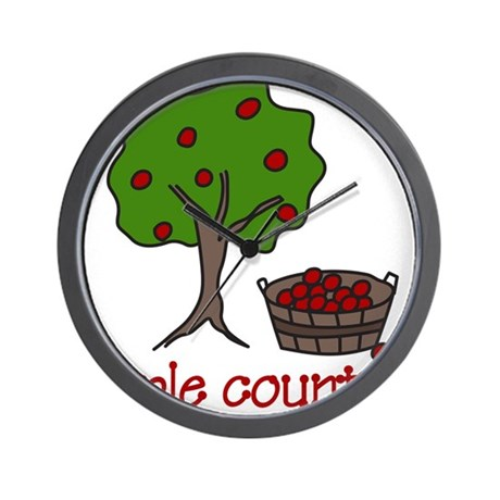 Apple Country Wall Clock