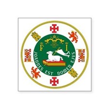 """Great Seal of Puerto Rico Square Sticker 3"""" x 3"""""""