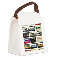 Tape Your Mouth Shut Canvas Lunch Bag