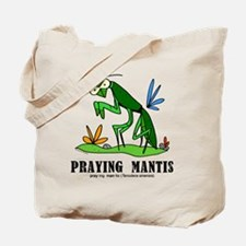 Cartoon Praying Mantis by Lorenzo Tote Bag