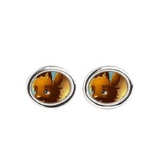 Market mouse button Cufflinks