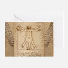 Da Vinci Greeting Card