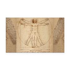 Da Vinci Rectangle Car Magnet