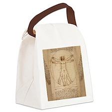 Da Vinci Canvas Lunch Bag