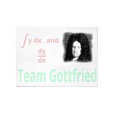 Team Gottfried (for dark background 5'x7'Area Rug