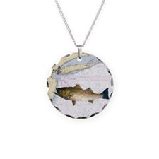 striped bass nautical shower Necklace