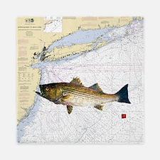 striped bass nautical shower curtain Queen Duvet