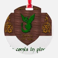 It Comes In Pints! Green Dragon Ornament