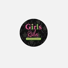 Girls Rule and the boys drool! Mini Button