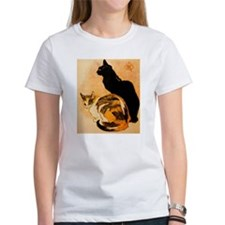 The Cats by Théophile Steinl Tee