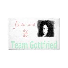 Team Gottfried (for dark background 3'x5' Area Rug