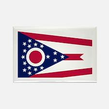 Flag of Ohio Rectangle Magnet