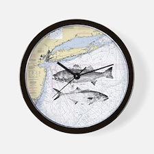 Striped bass Wall Clock