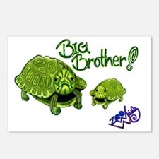 Big Brother Turtle - ZooW Postcards (Package of 8)