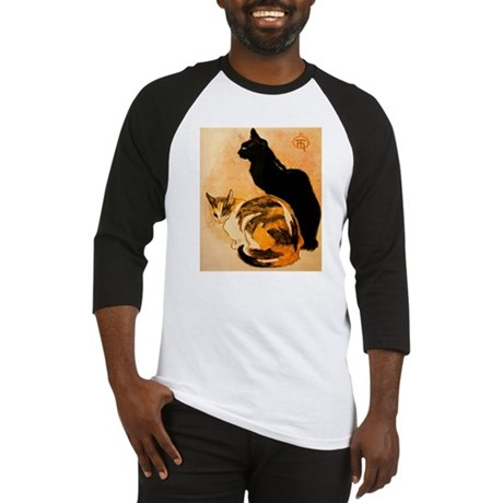 The Cats by Théophile Steinl Baseball Jersey