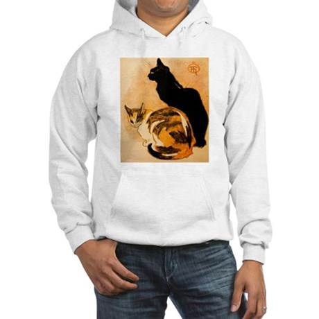 The Cats by Théophile Steinl Hooded Sweatshirt