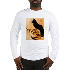 The Cats by  Théophile Steinl Long Sleeve T-Shirt