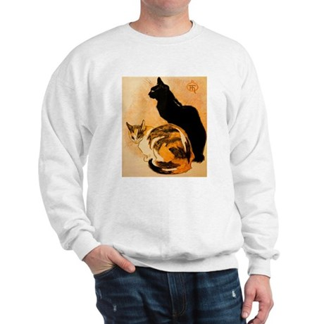 The Cats by Théophile Steinl Sweatshirt