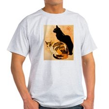 The Cats by  Théophile Steinl T-Shirt