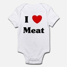 I love Meat Infant Bodysuit