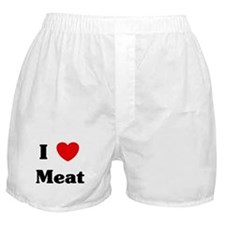 I love Meat Boxer Shorts