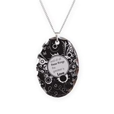 and of all these things renew Necklace Oval Charm