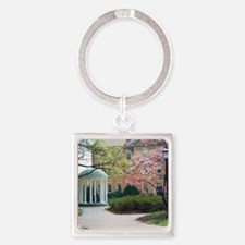 The Old Well Square Keychain