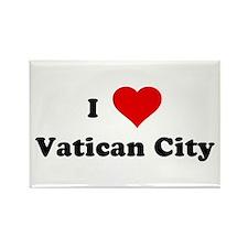 I Love Vatican City Rectangle Magnet (100 pack)