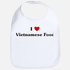 I love Vietnamese Food Bib
