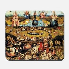 Hieronymus Bosch Garden Of Earthly Delig Mousepad