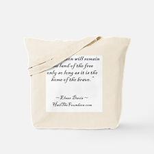 Elmer Davis Tote Bag