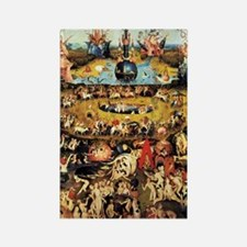 Hieronymus Bosch Garden Of Earthl Rectangle Magnet