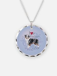 mini amer-round Necklace