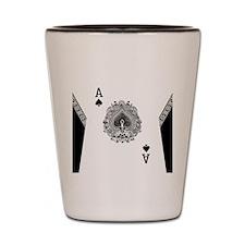 Men FB ace1 Shot Glass