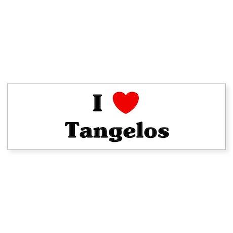 I love Tangelos Bumper Sticker