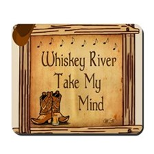 Country Music Coaster Mousepad