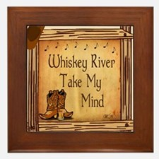 Country Music Coaster Framed Tile