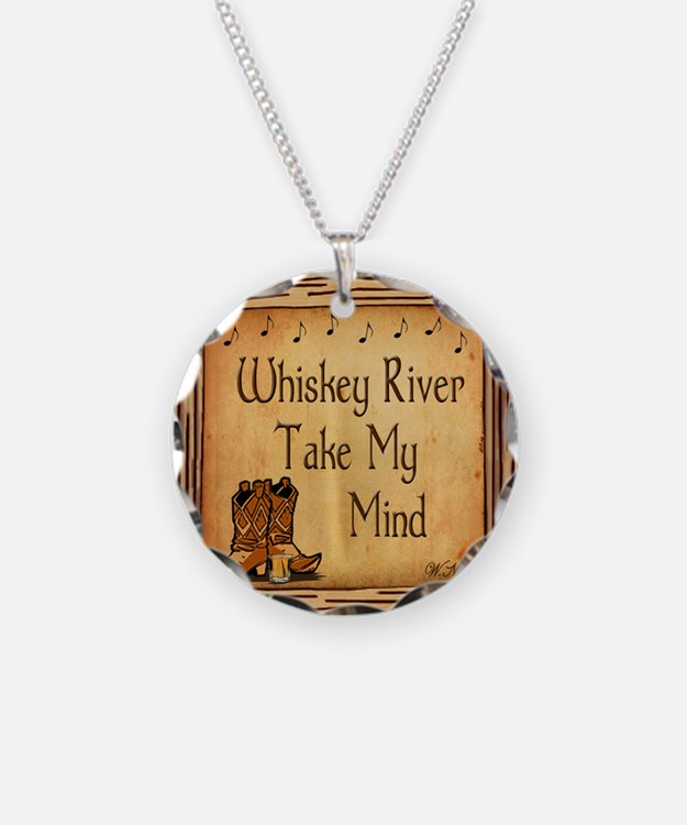 Country Music Coaster Necklace