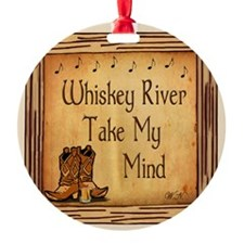 Country Music Coaster Ornament