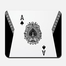 Ace of Spades Mousepad