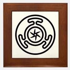 Hecate's Wheel Framed Tile