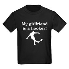 My Girlfriend Is A Hooker Rugby T-Shirt