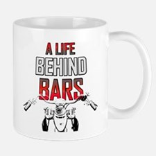 Motorcycle - A Life Behind Bars Large Mugs