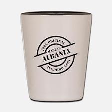 Made in Albania Shot Glass