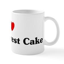 I love Black Forest Cake Mug