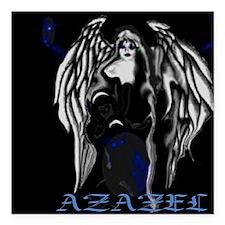 "Azazel Square Car Magnet 3"" x 3"""